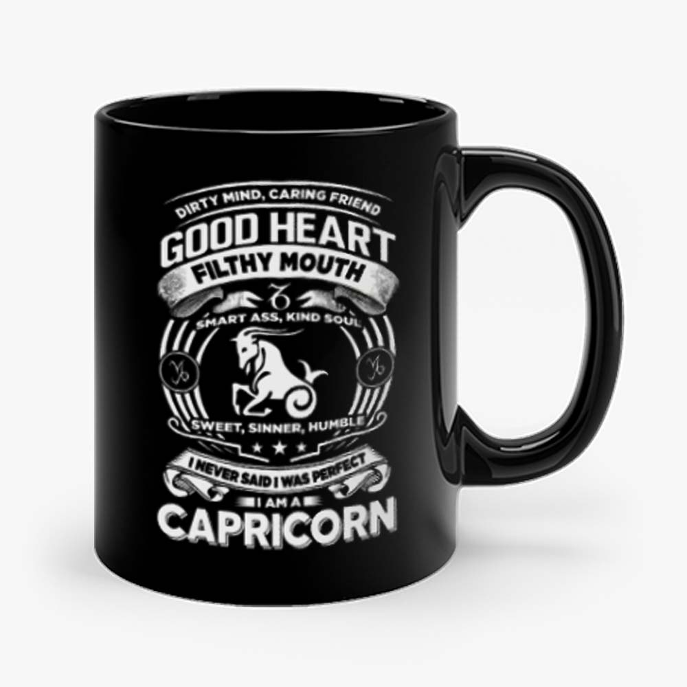 Capricorn Good Heart Filthy Mount Mug