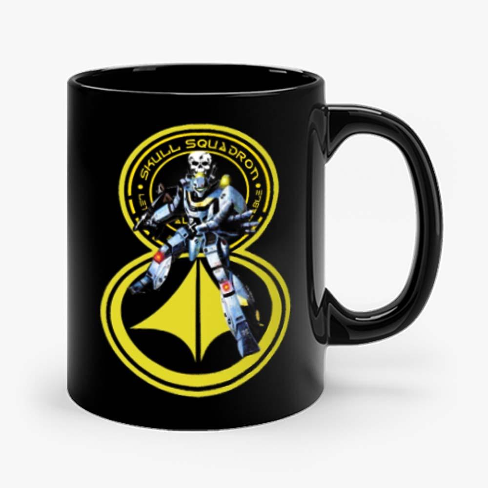 Cartoon Classic Robotech Skull Leader VF 1S Mug