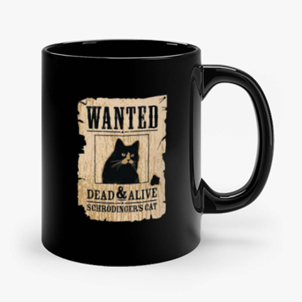 Cat Wanted Dead Or Alive Mug