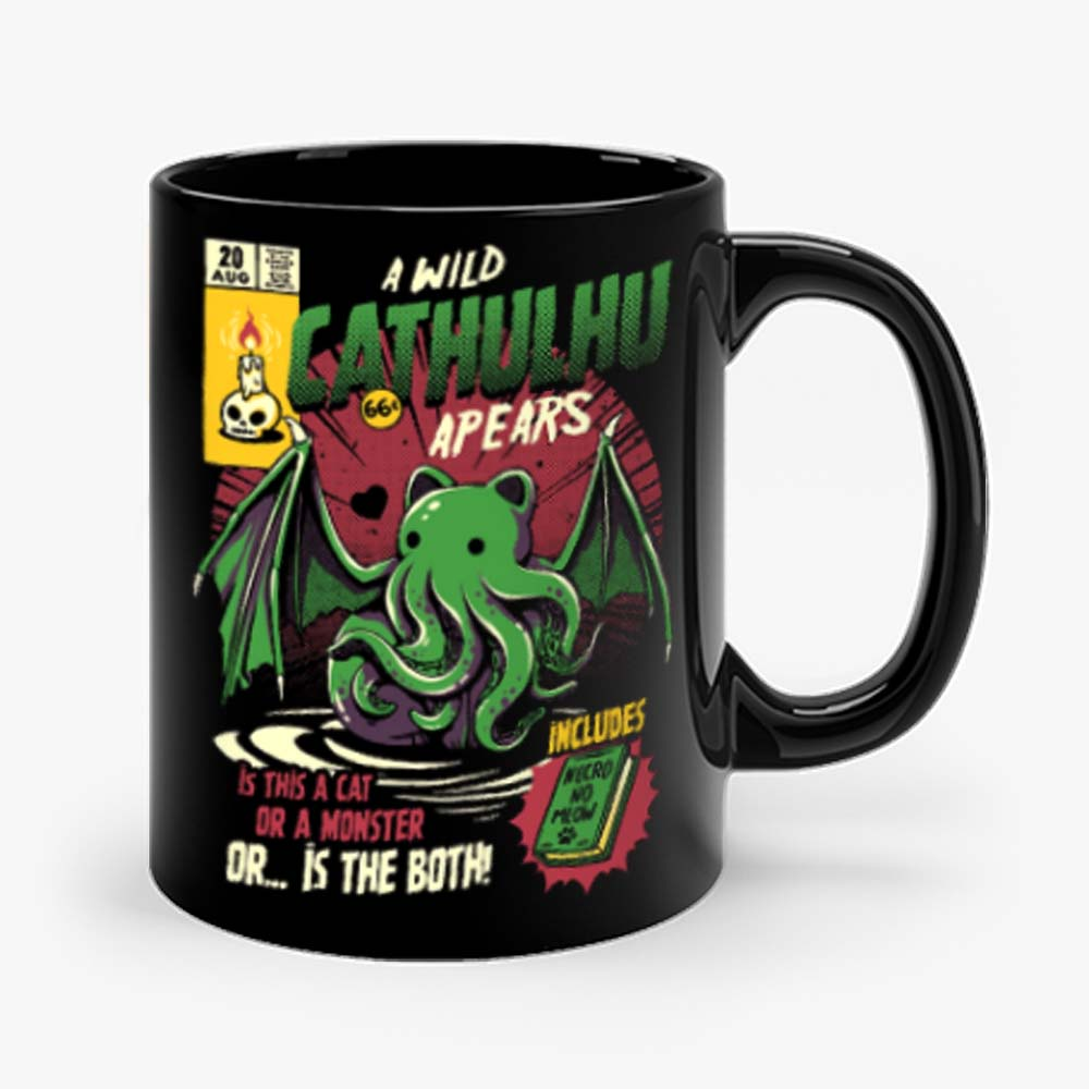 Cathulhu Gurita Bat Mug