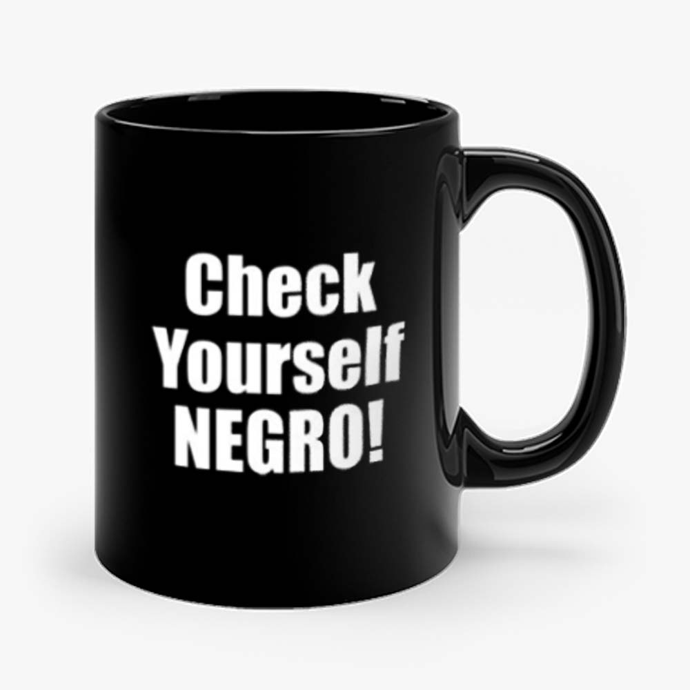 Check Yourself Negro Cornell West New Interview Mug