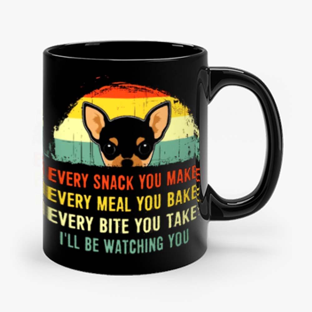 Chihuahua Quote Vintage Dog Mug