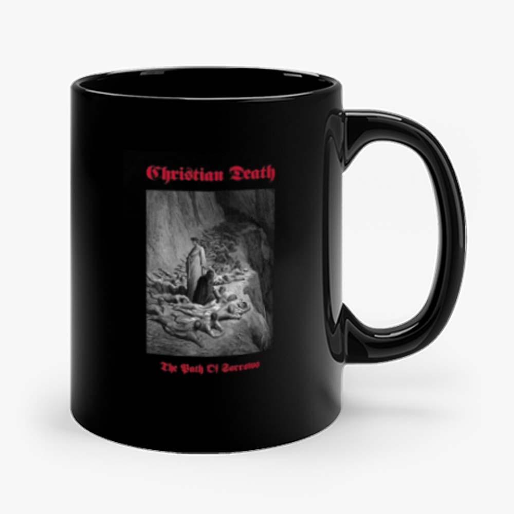 Christian Death Rozz Williams Deathrock Mug