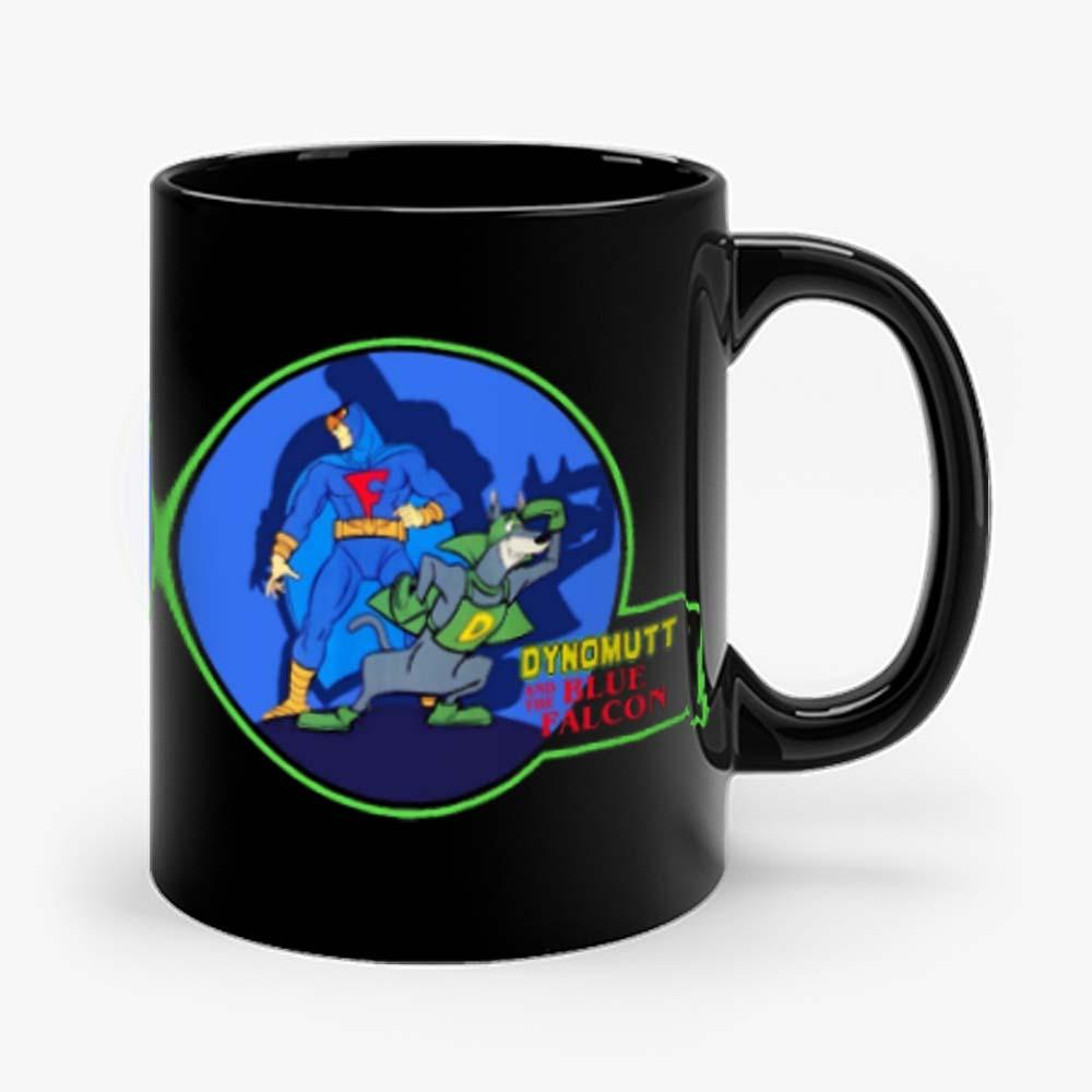 Classic Dynomutt Blue Falcon Mug