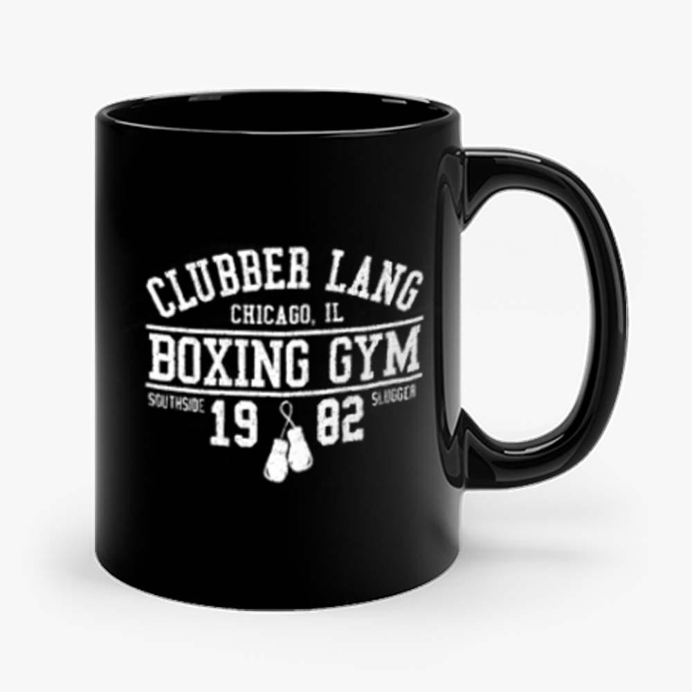 Clubber Lang Boxing Gym Retro Rocky 80s Workout Gym Mug