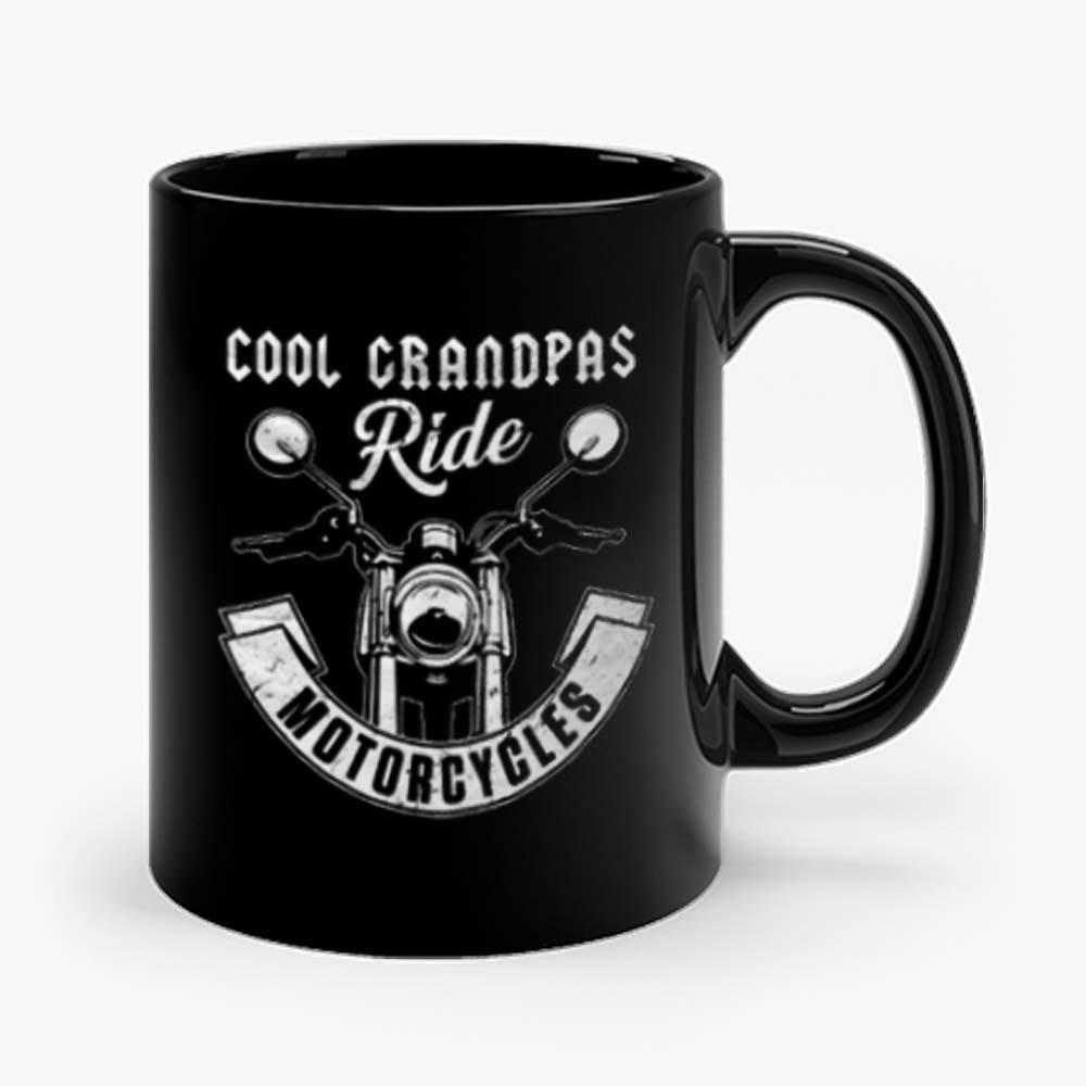 Cool Grandpa Ride Motorcycles Mug