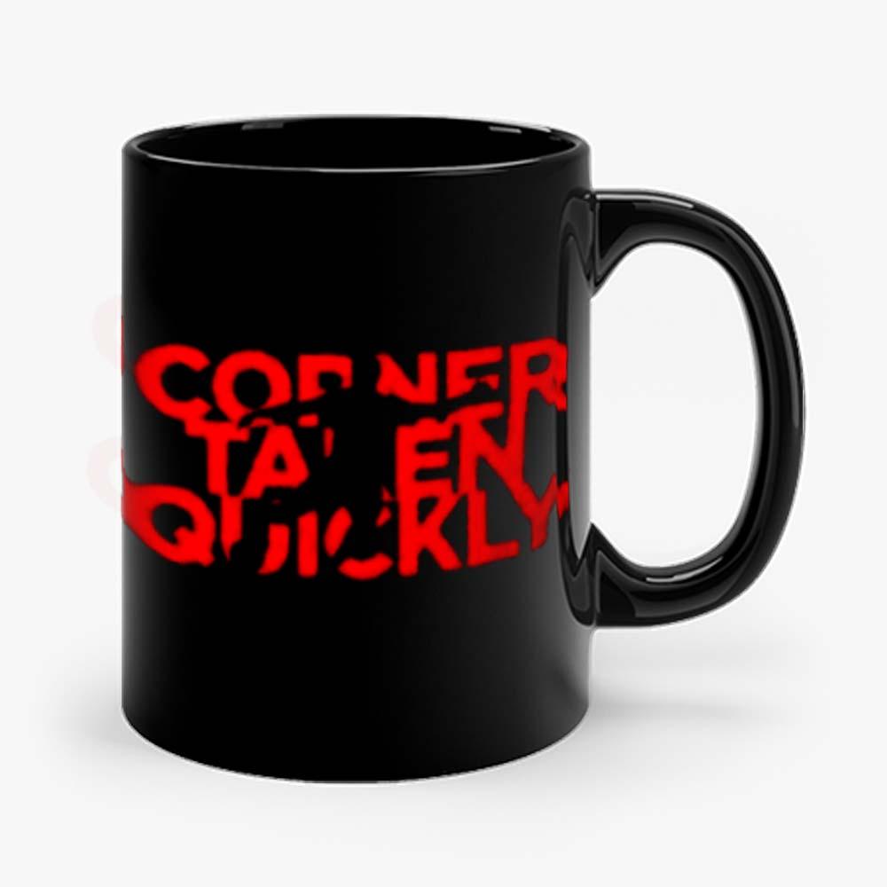 Corner Taken Quickly Football Spirit Mug