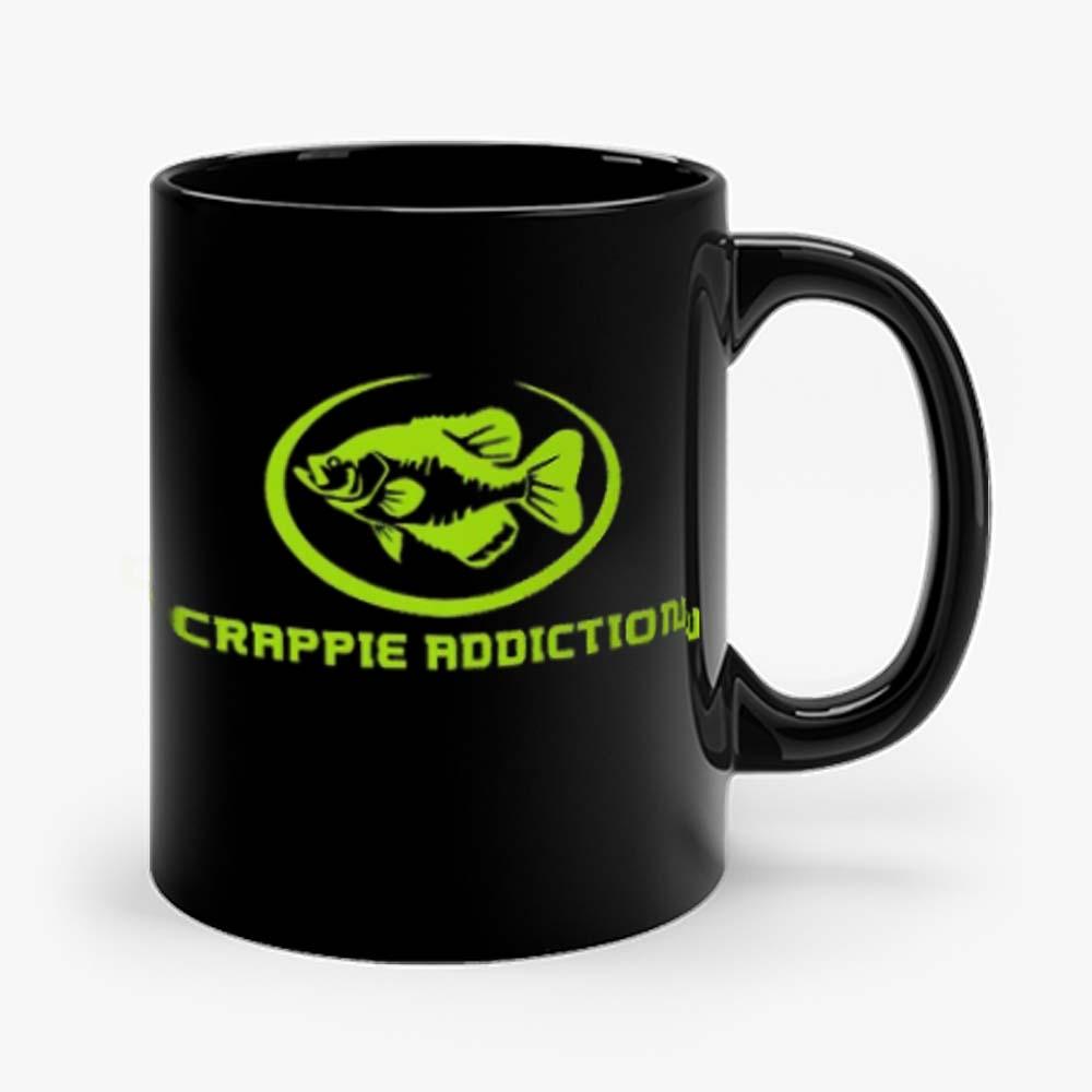 Crappie Addiction Funny Fishing Mug
