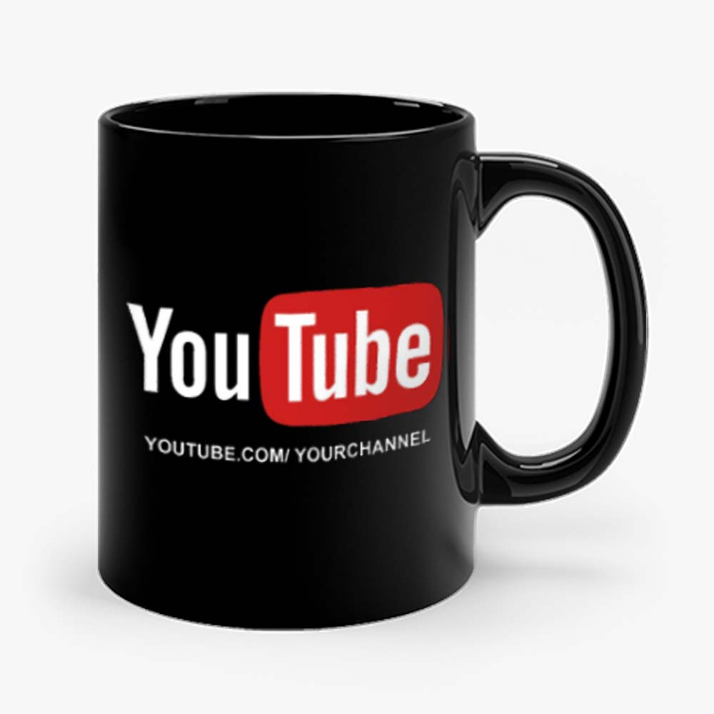 Customized YouTube Channel URL Mug