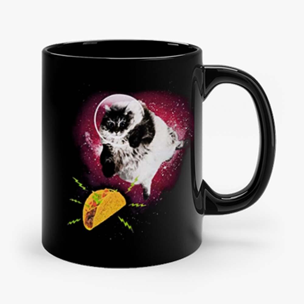 Cute Astronot Cat Get Nachos Mug