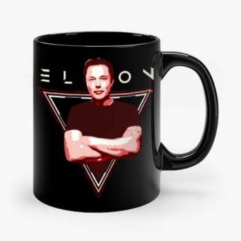 Elon Musk Space x Nerdy Mug
