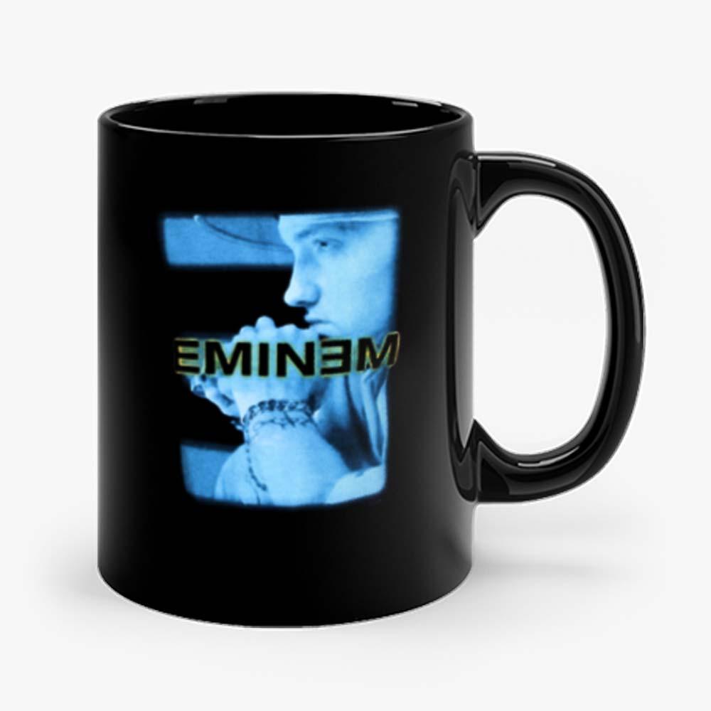 Eminem Blue Photo Poster Vintage Mug