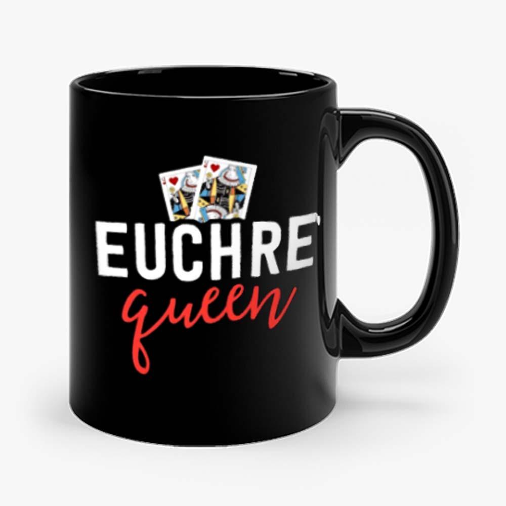 Euchre Queen Funny Euchre Game Mug
