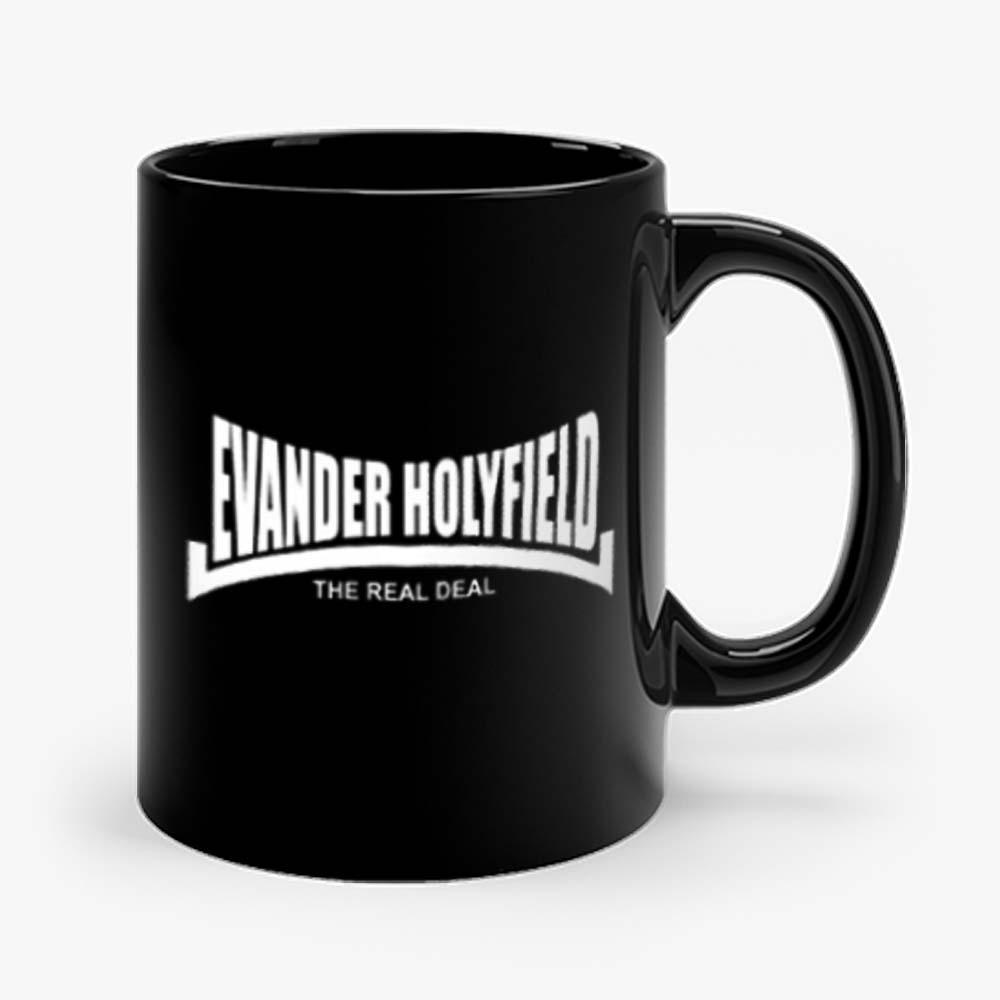 Evander Holyfield The Real Deal Boxing Mug