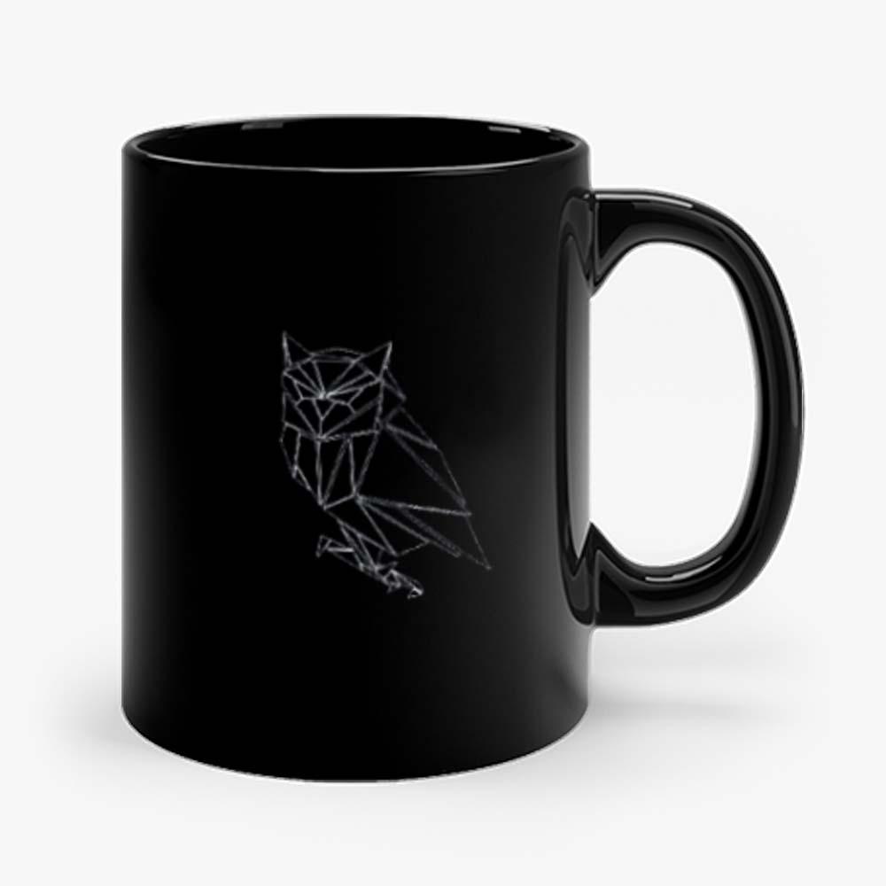 Geometric Origami Owl Mug