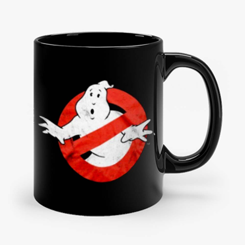 Ghostbusters Distressed Logo vintage maglia Uomo Ufficiale Mug