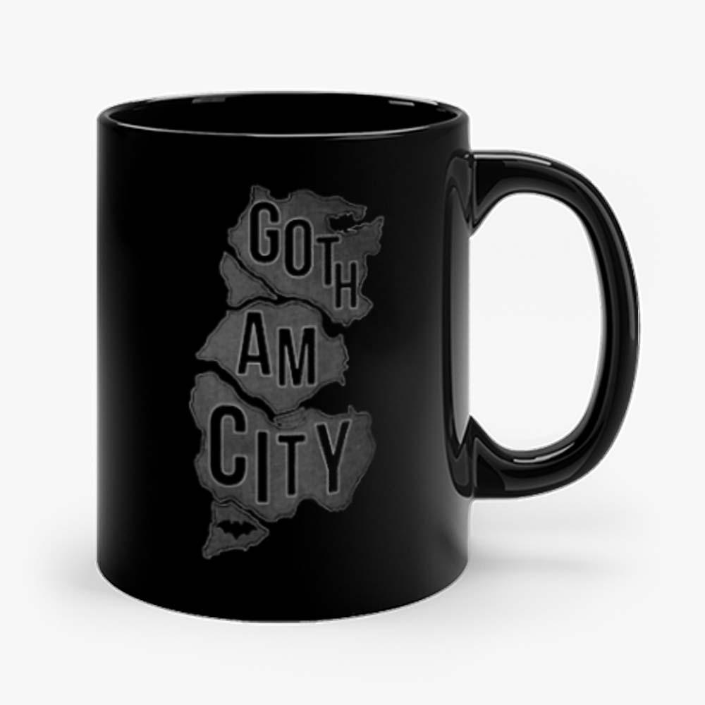 Gotham City Map Mug