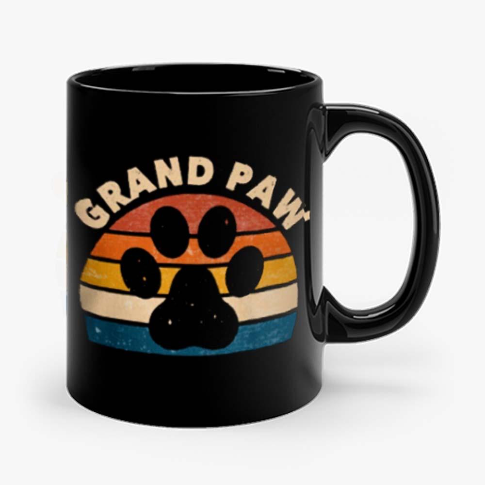 Grandpa Paw Pet Animal Lover Mug