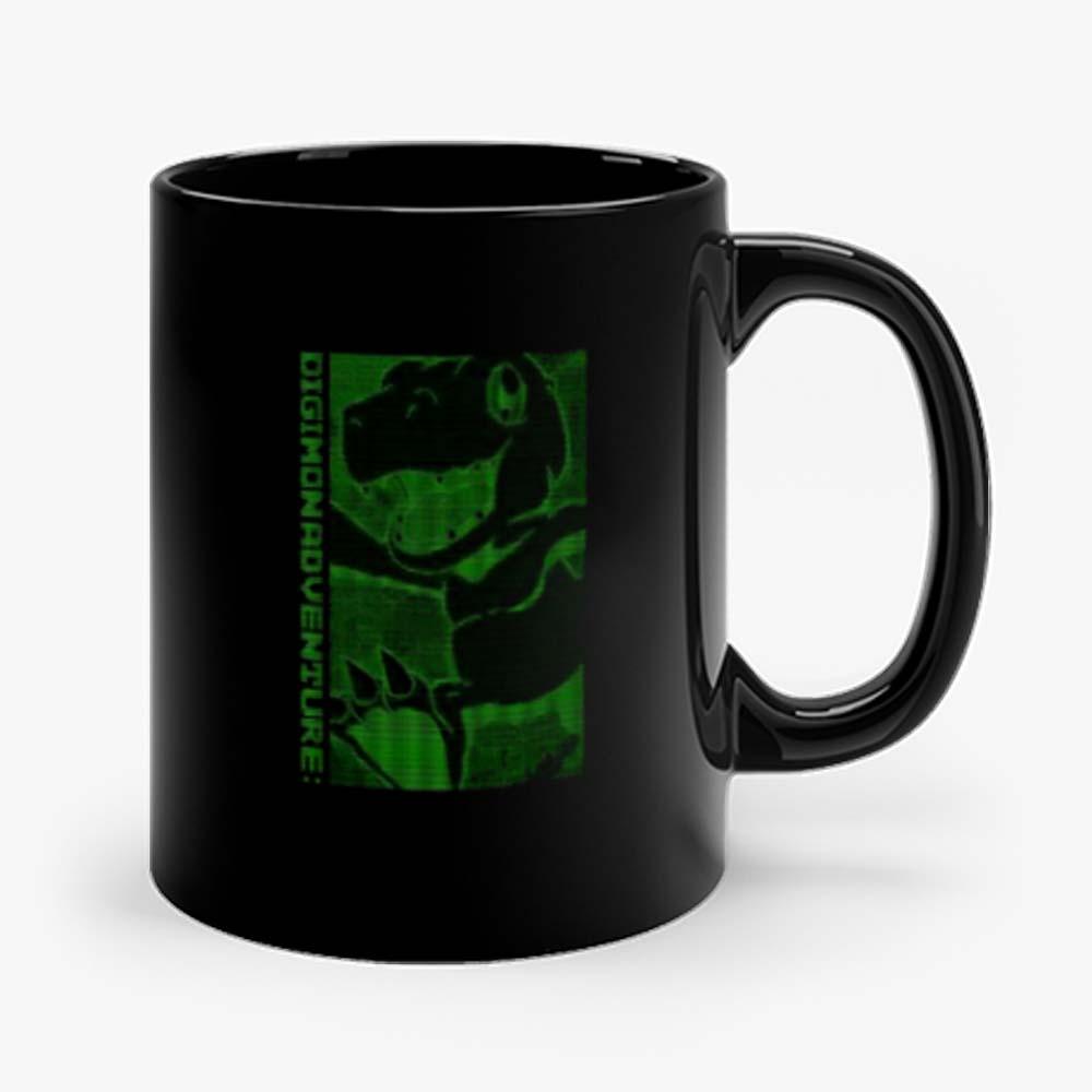 Green Agumon Digimon Adventure Mug