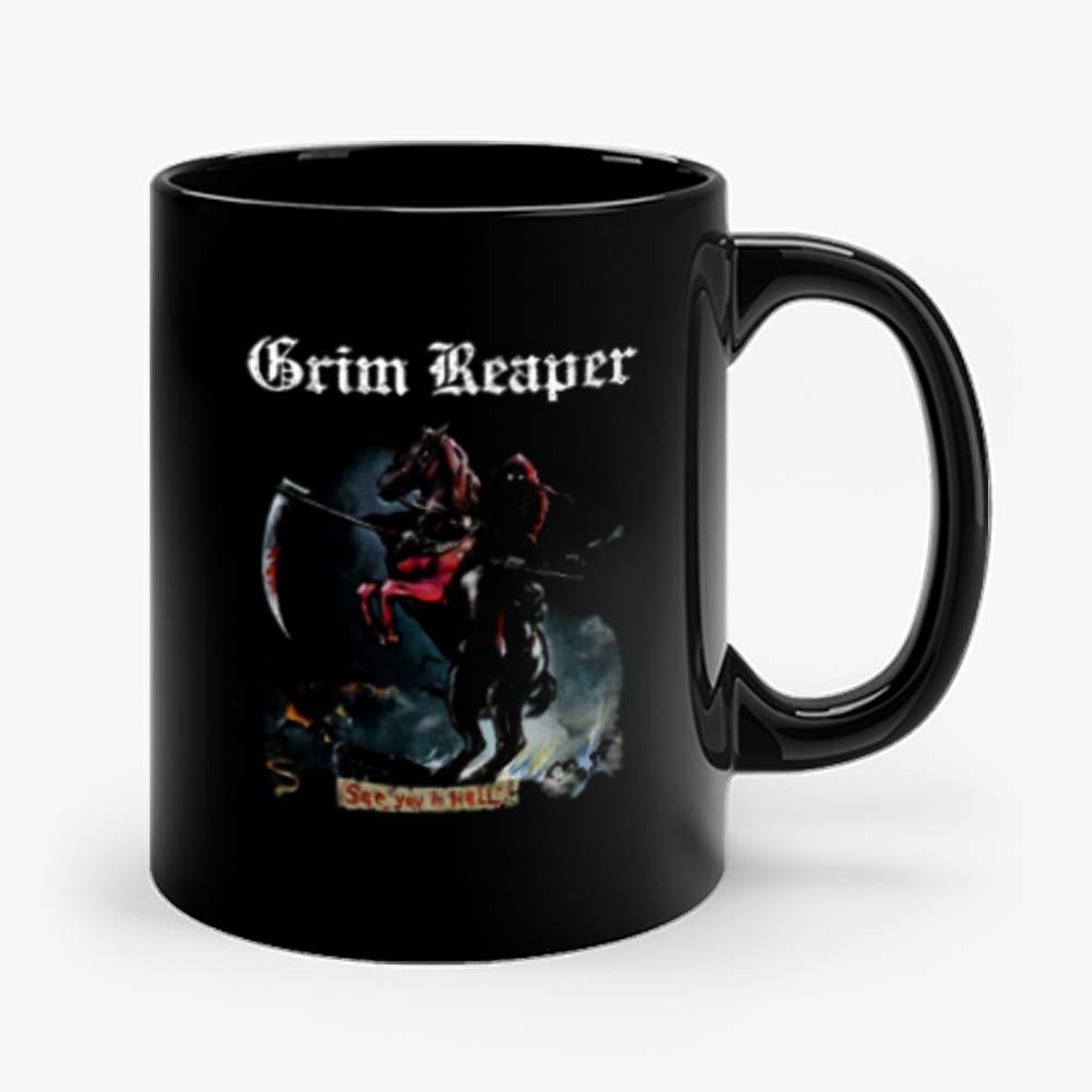Grim Reaper See You In Hell 1983 Audioslave Mug