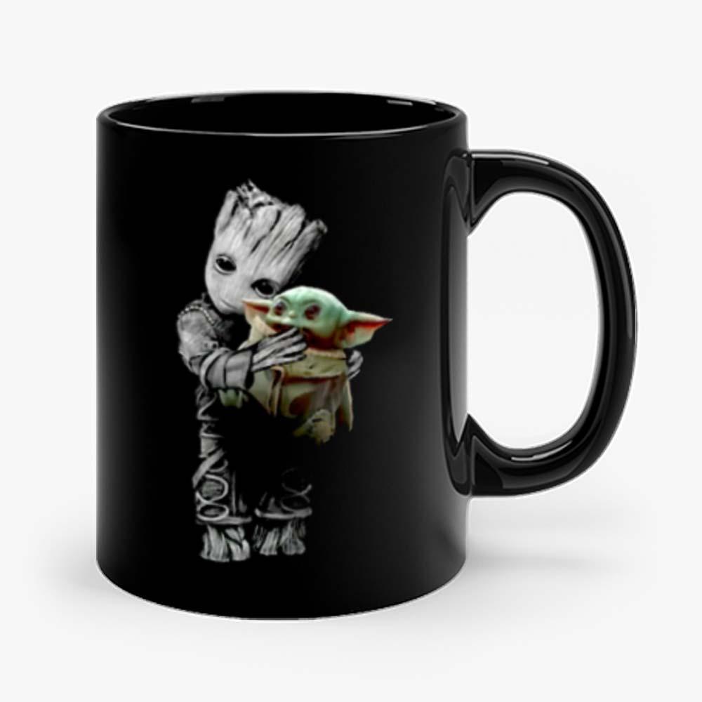 Groot Mashup Baby Yoda The Mandalorian The Child Mug