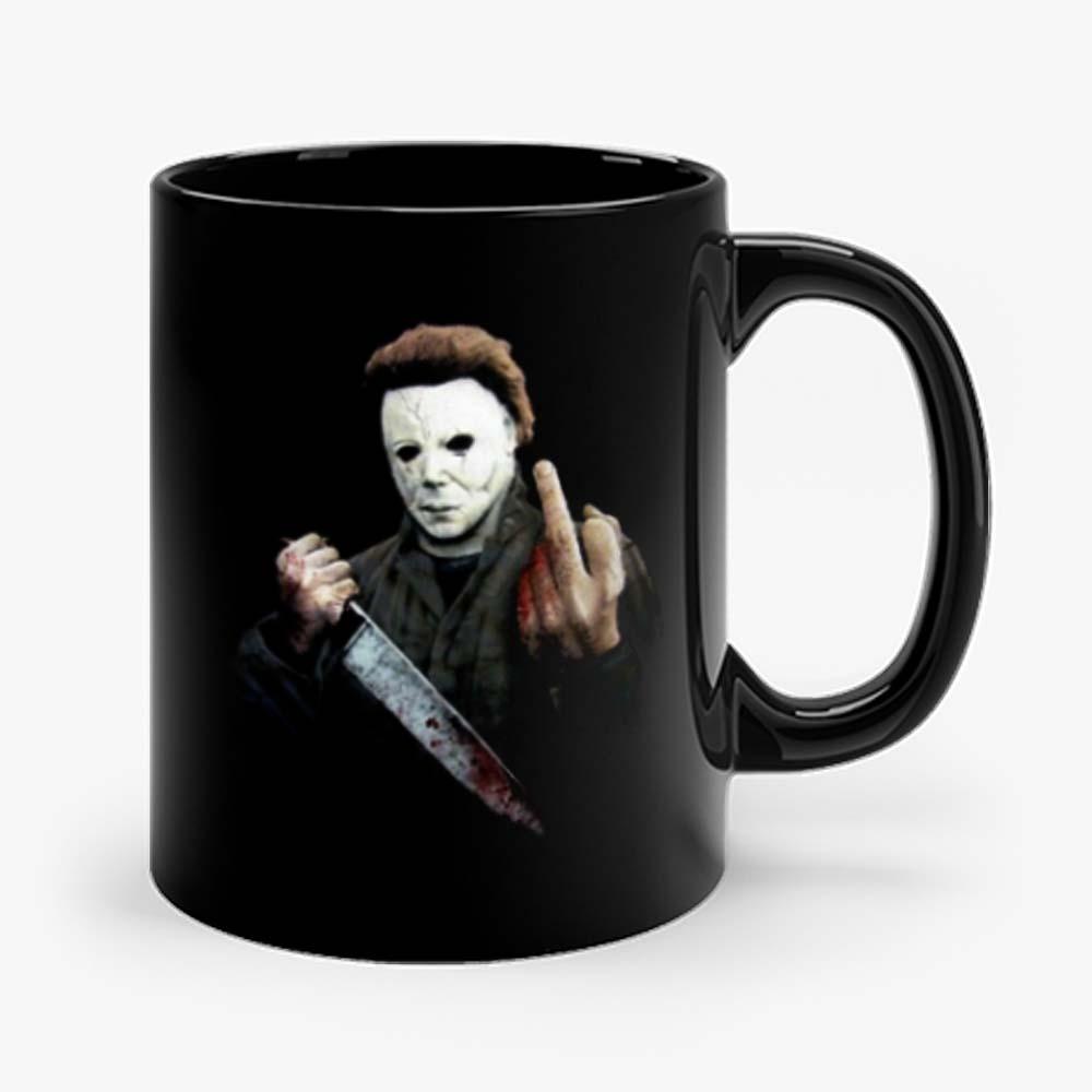 Halloween Middle Finger Mug