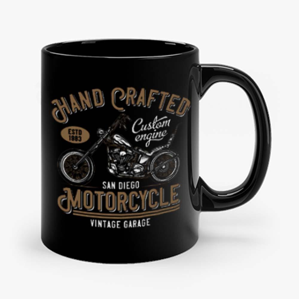 Hand Crafted Motorcycle Vintage Mug