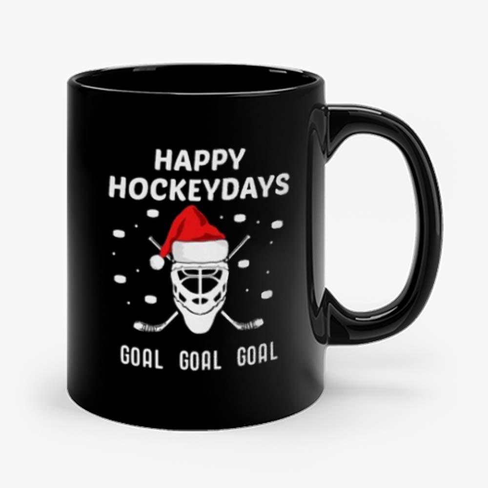 Happy Hockeydays Christmas Hockey Mug