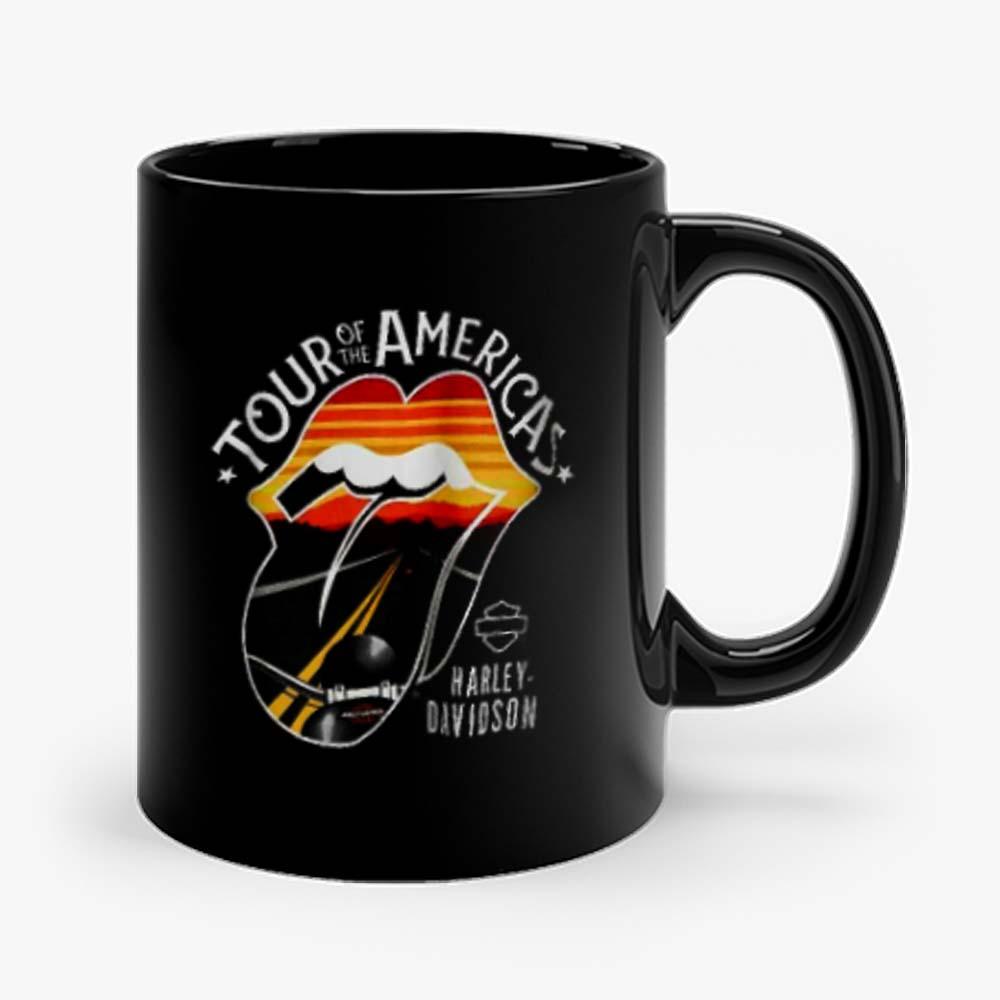 Harley Davidson Rolling Stones America Tour Mug