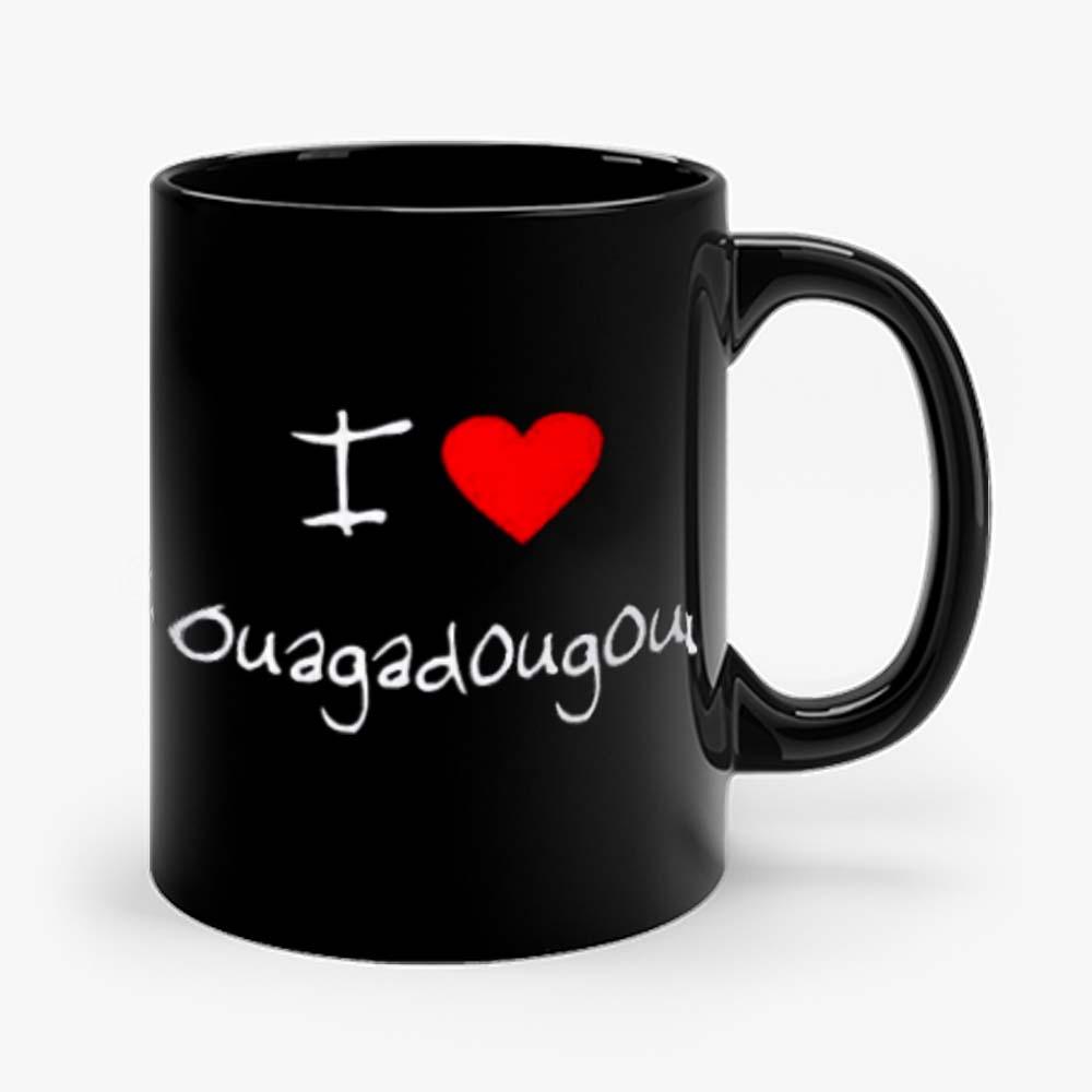 I Love Heart Ouagadougou Mug