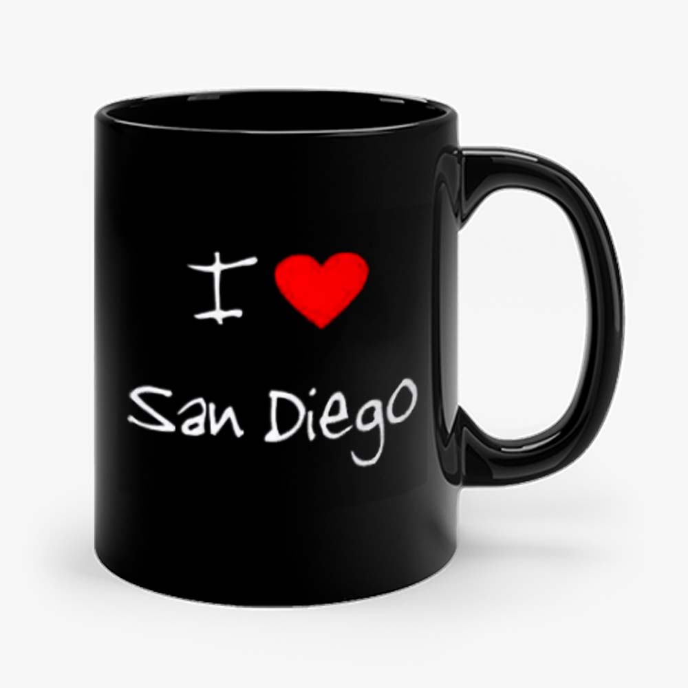 I Love Heart San Diego Mug