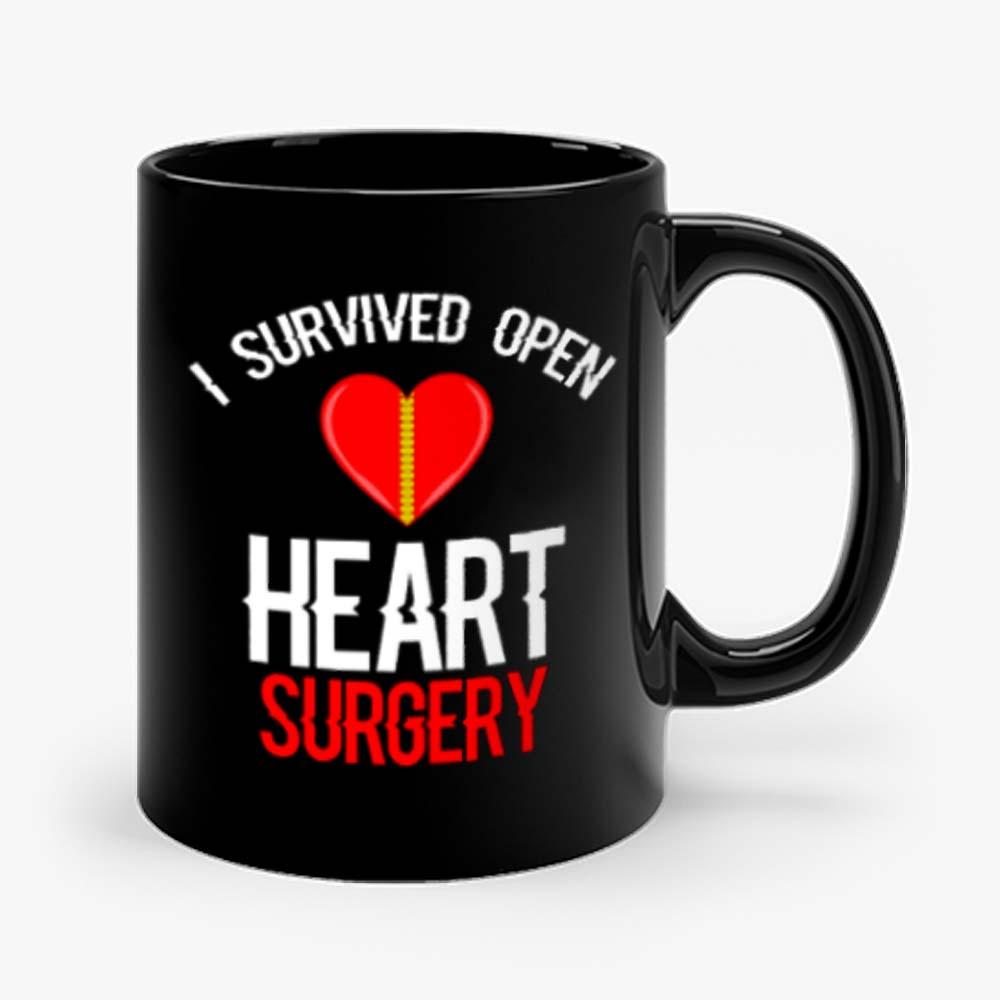 I Survived Open Heart Surgery Men Women Mug