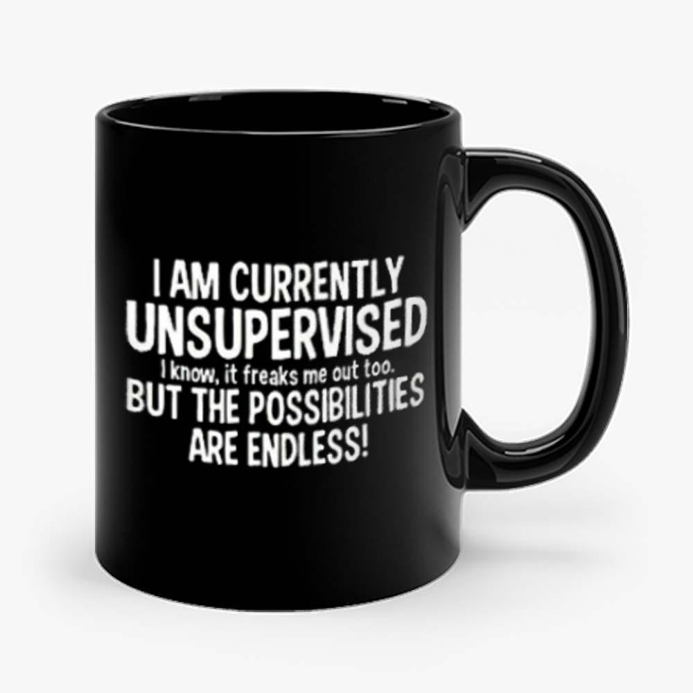 IM CURRENTLY UNSUPERVISED Mug
