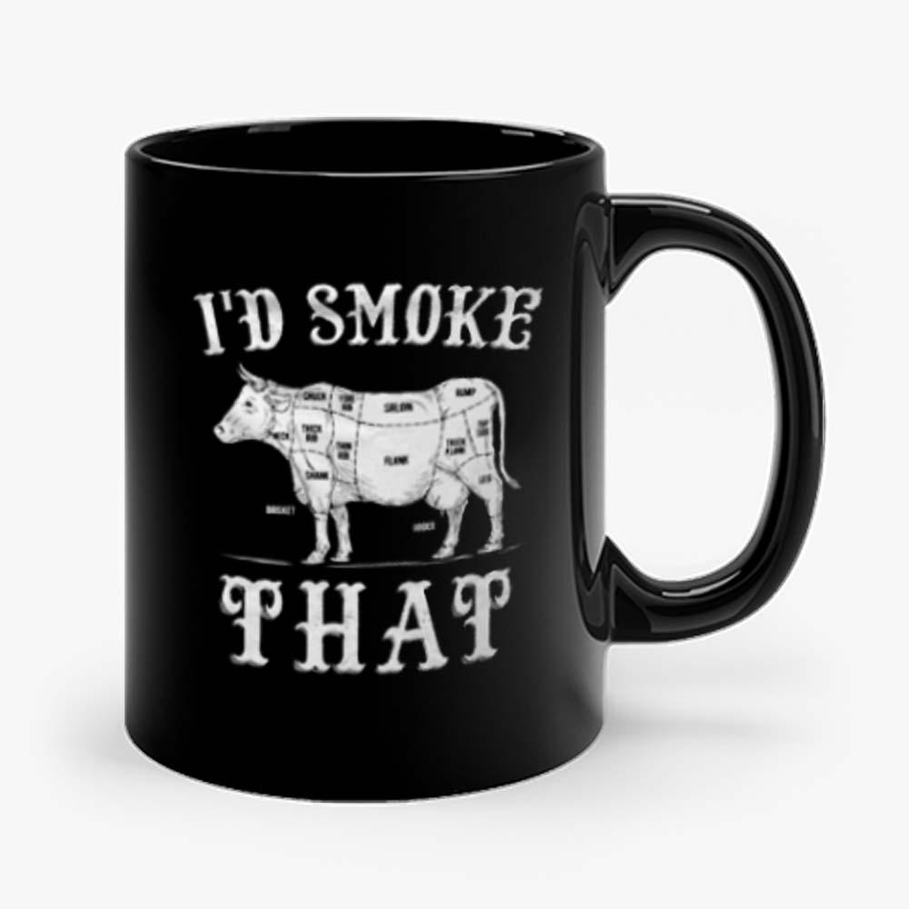 Id Smoke That Cow Mug