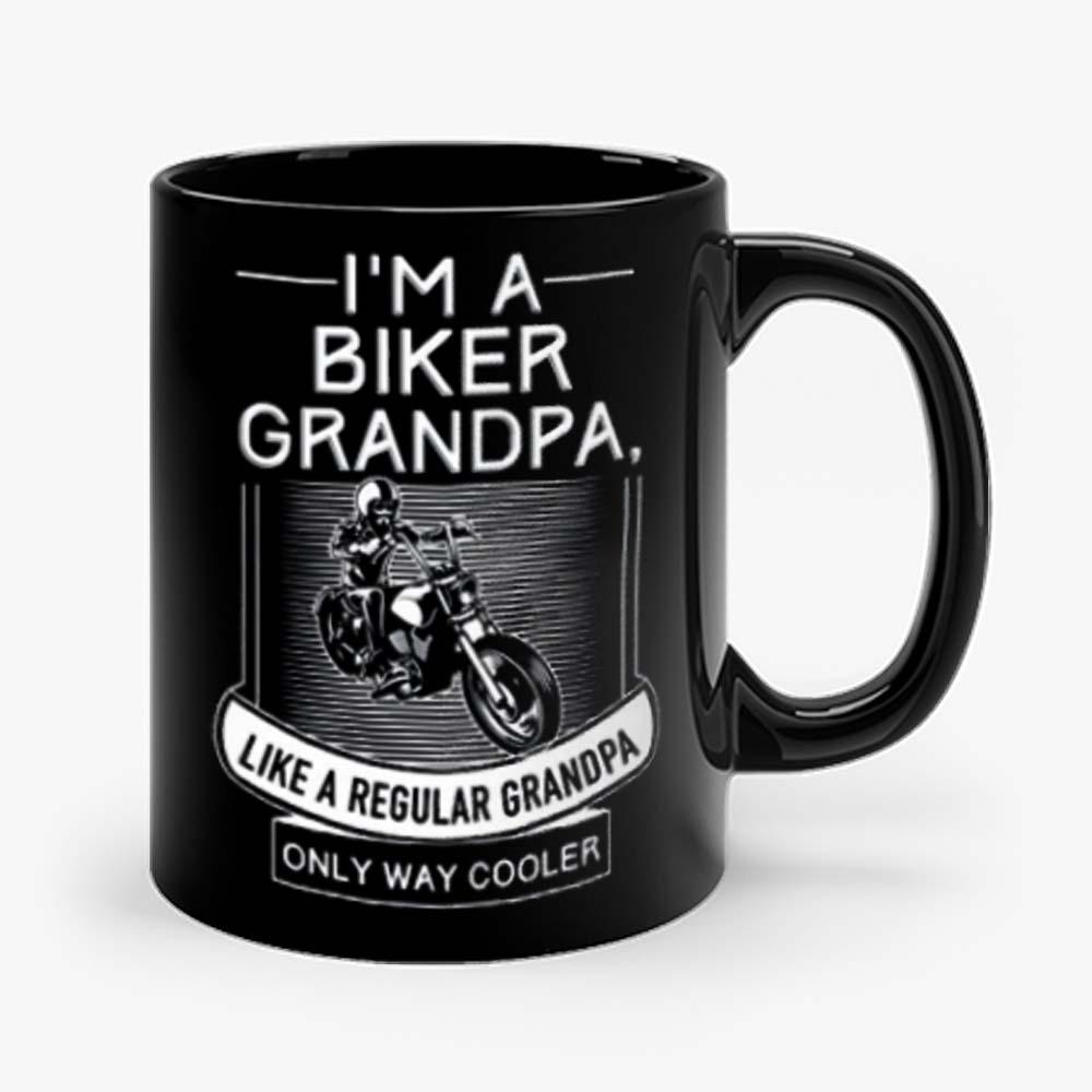 Im A Biker Grandpa Mug