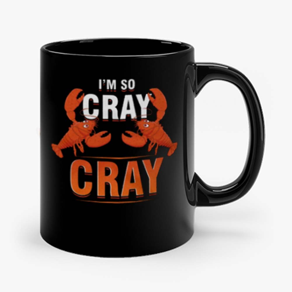 Im So Cray Crayfish Lobster Mug