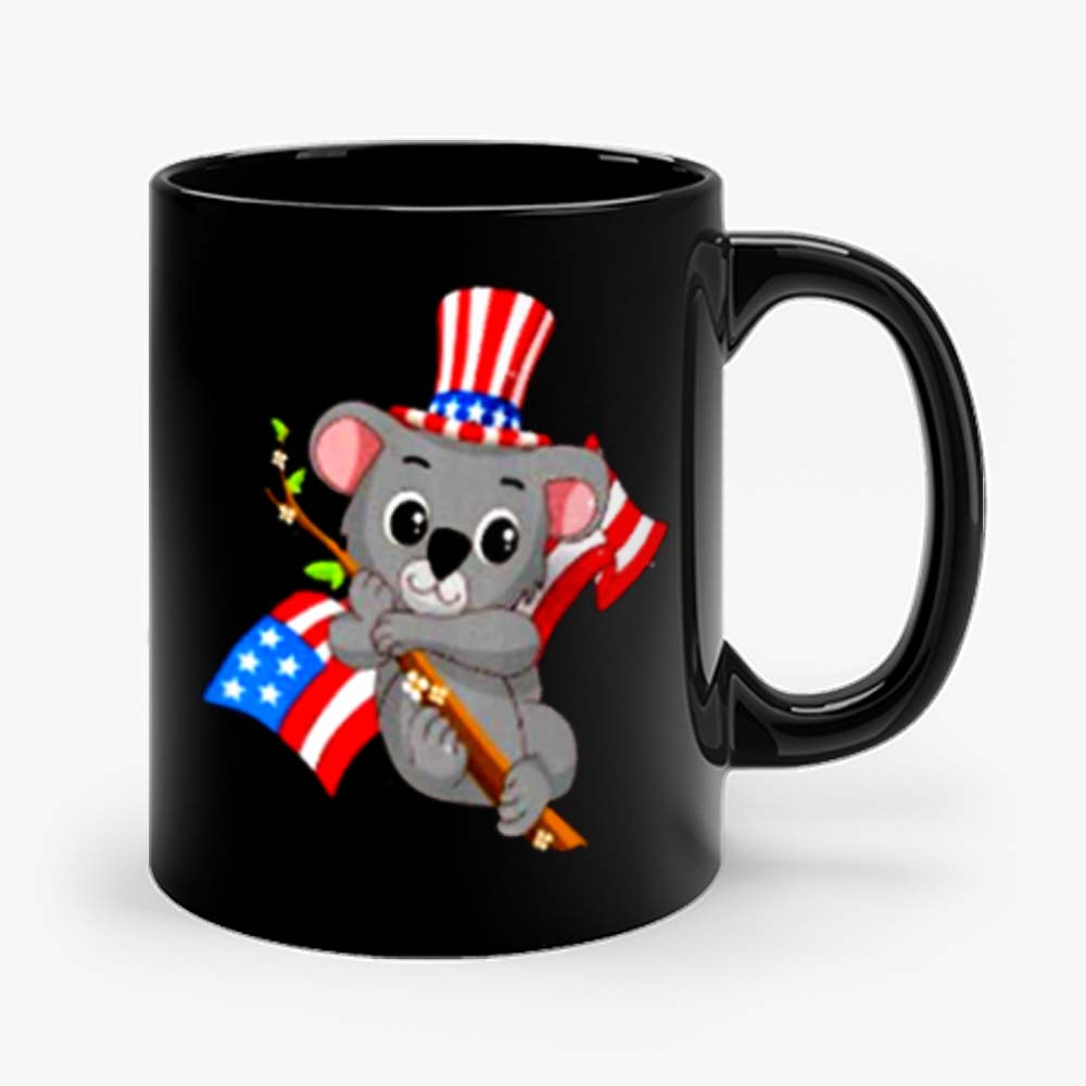 Independence Day Koala Mug