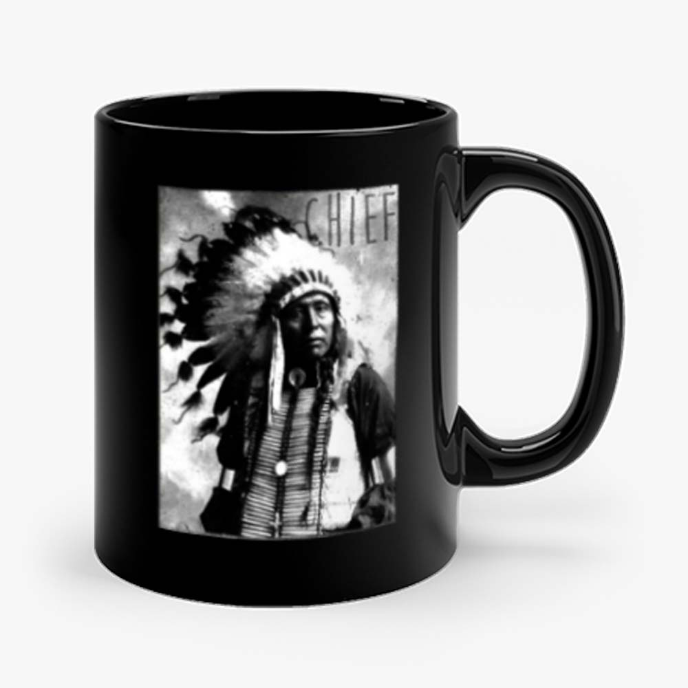 Indians Chief American Hipster Mug