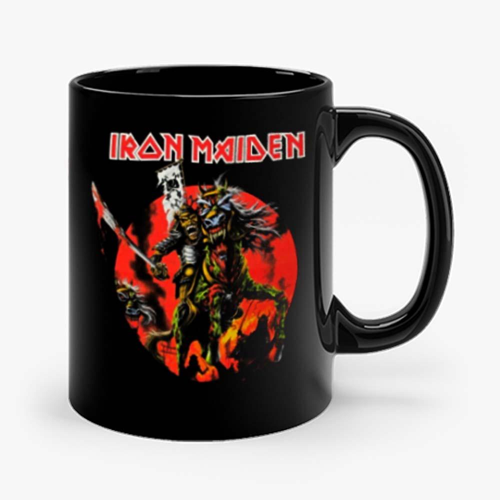 Iron Maiden Skull Samurai Mug