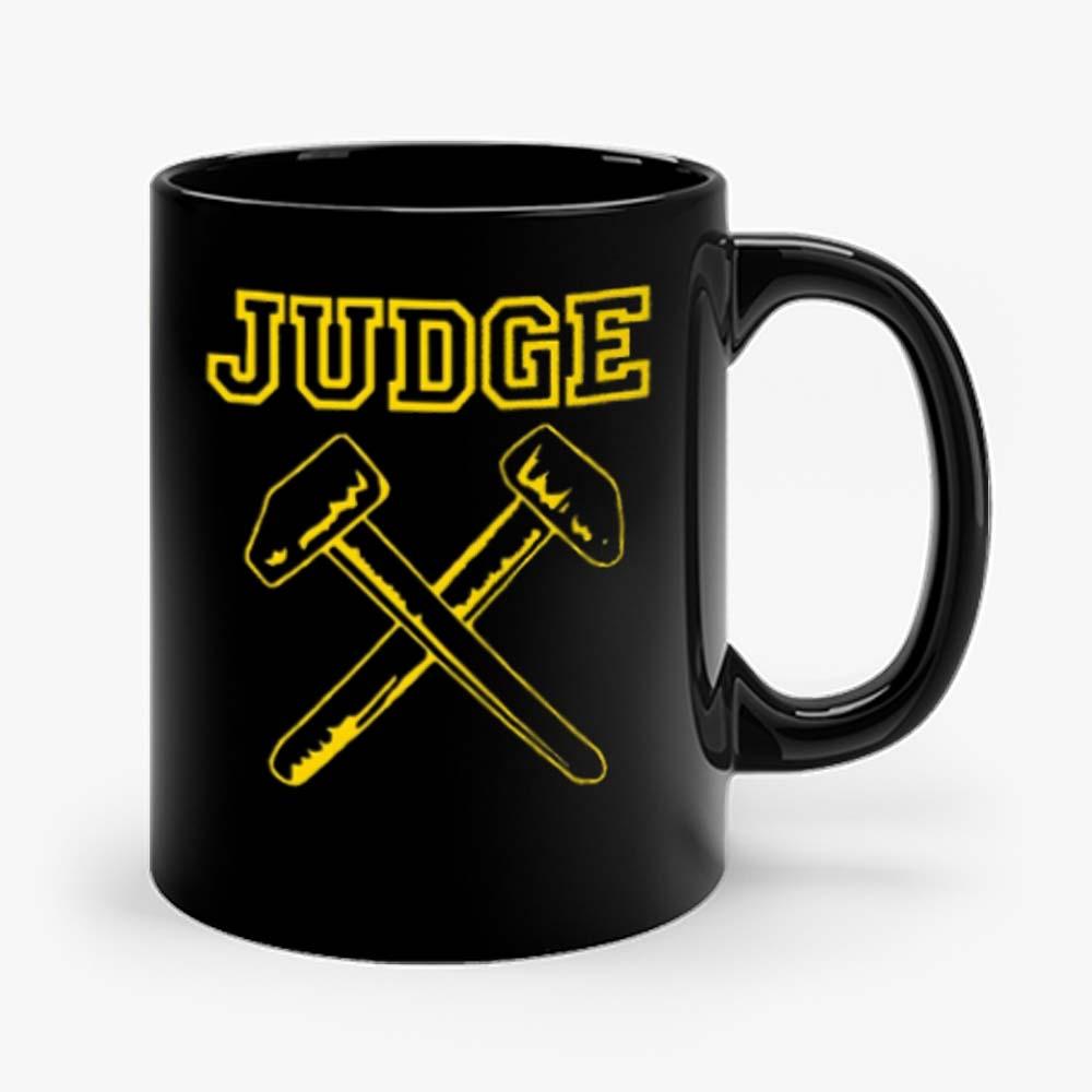 JUDGE HAMMERS BLACK HARDCORE NYC PUNK CROSSOVER THRASH Mug