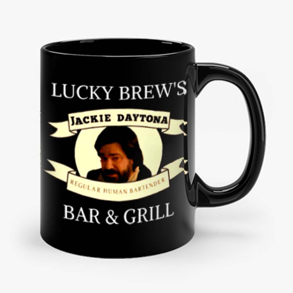 Jackie Daytona Lucky Brews Bar and Grill What We Do In The Shadows Mug