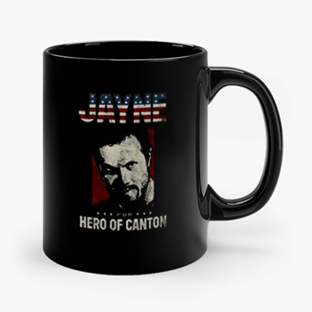 Jayne For Hero Of Canton Retro Mug