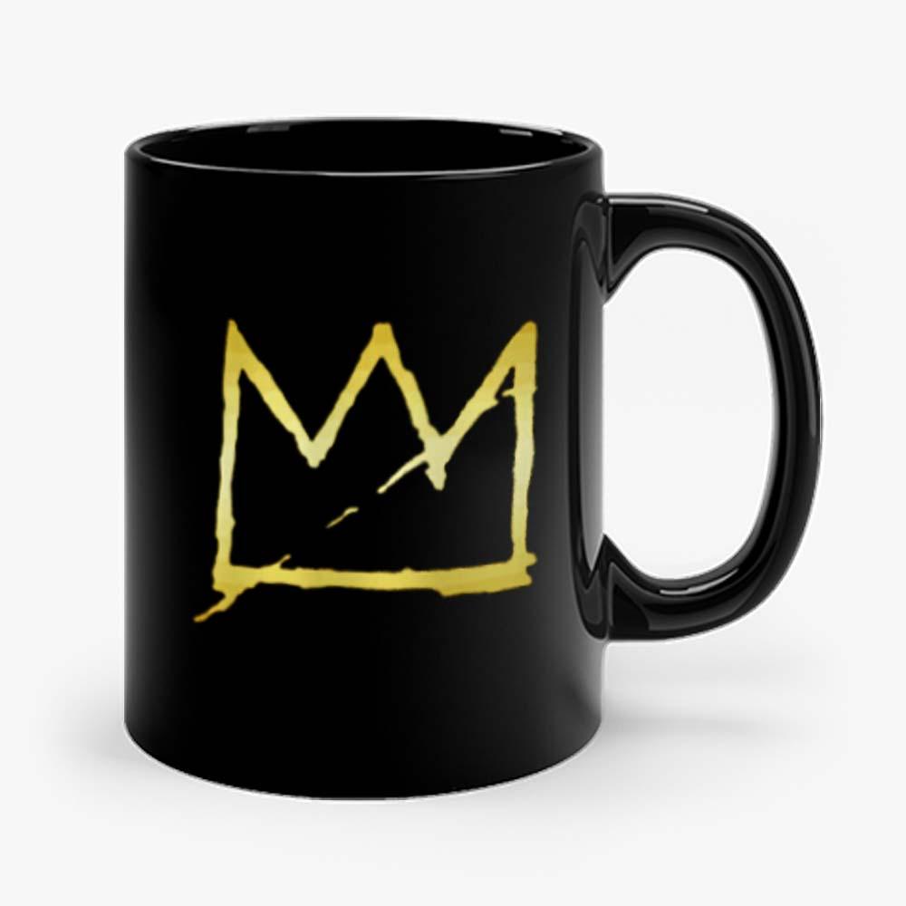 Jean Michel Basquiat Crown Abstract Mug