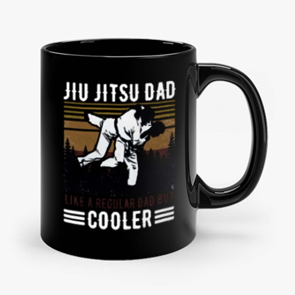 Jiu Jitsu Dad Like A Regular Dad But Cooler Happy Mug