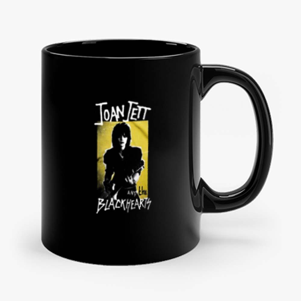 Joan Jett And Blackhearts Retro Band Mug