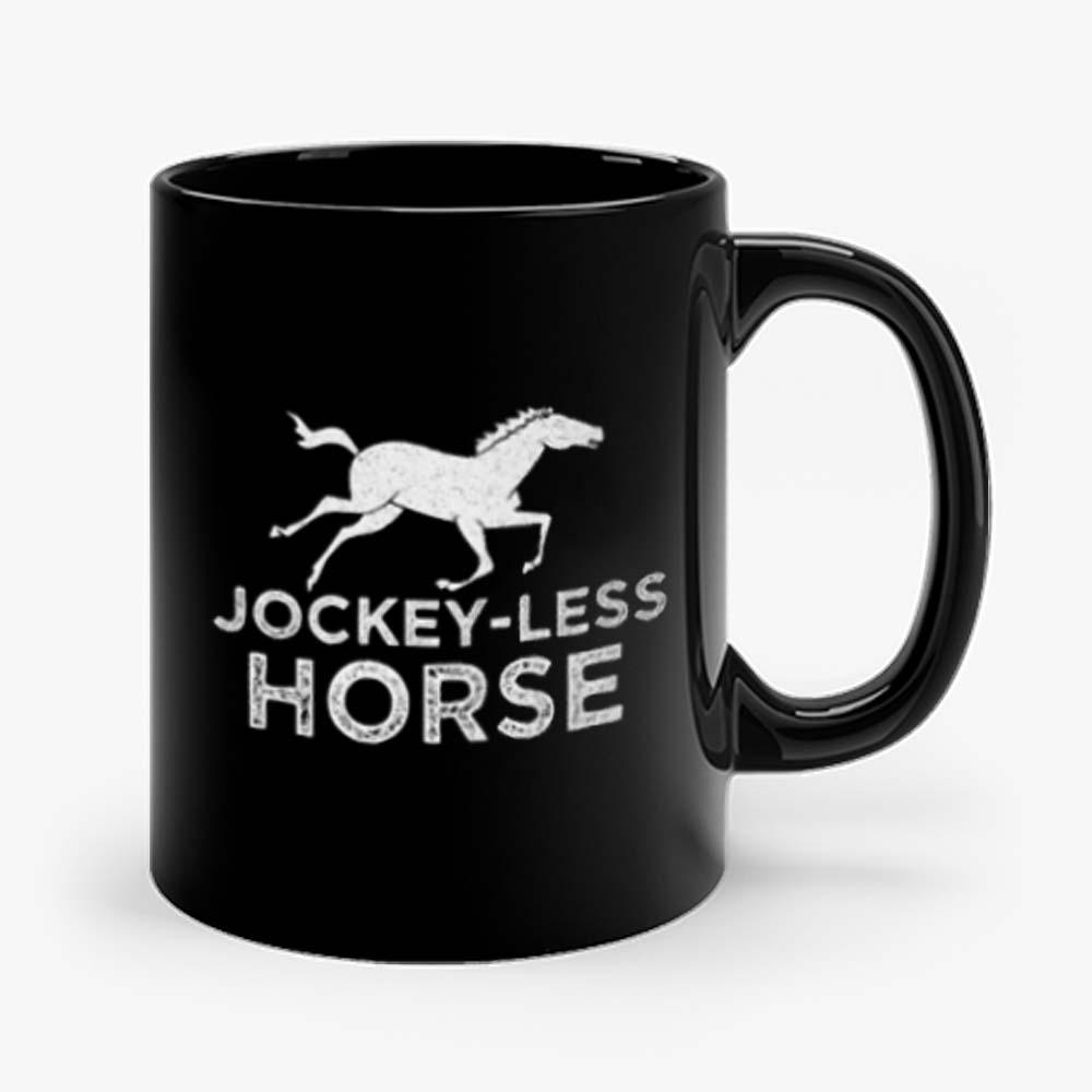 Jockey Less Horse Running Horse Mug