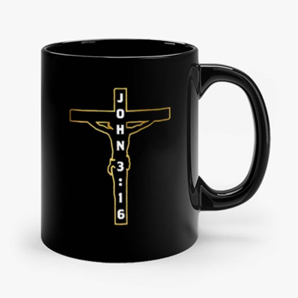John 3 16 Jesus on the Cross Mug