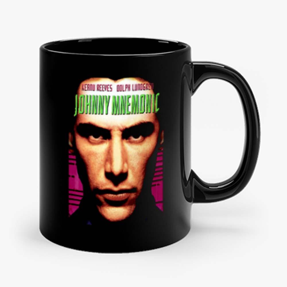 Johnny Mnemonic movie poster Mug