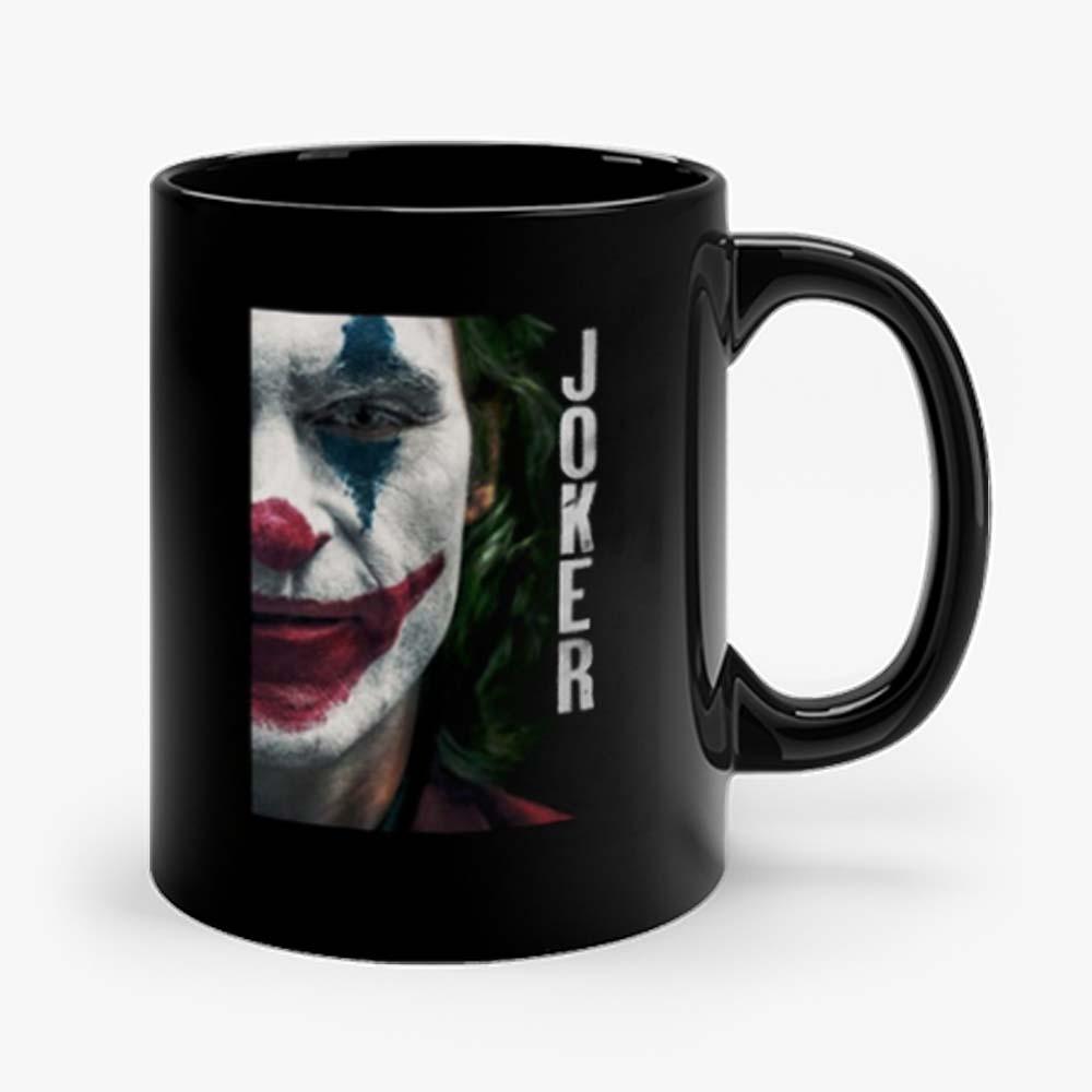 Joker Half Face Mug