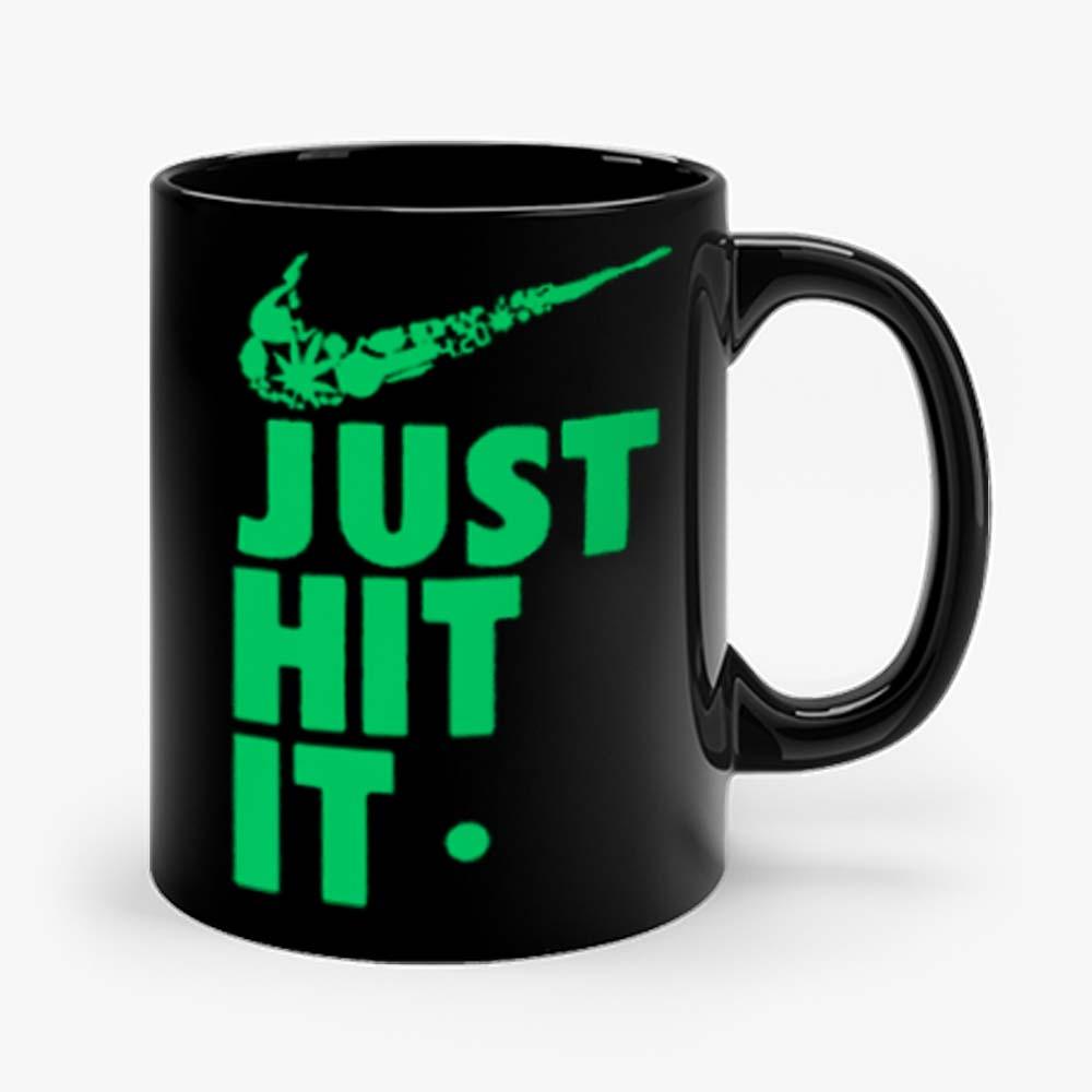 Just Hit It Swag Marijuana Fresh Swoosh Mug